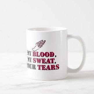 My Blood, My Sweat, Your Tears - Track Coffee Mug