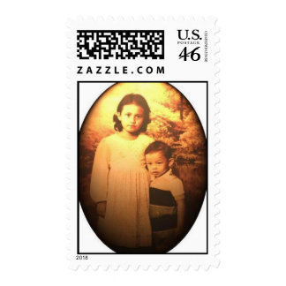 my blood sister brother postage stamps