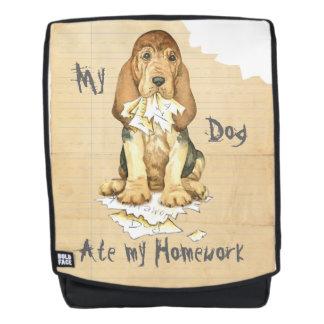 My Bloodhound Ate My Homework Backpack