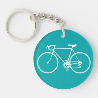 My Blue bicycle Keychain