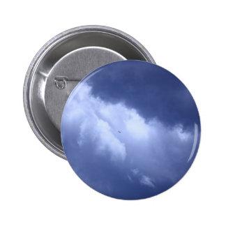 My Blue Heaven 2 Inch Round Button