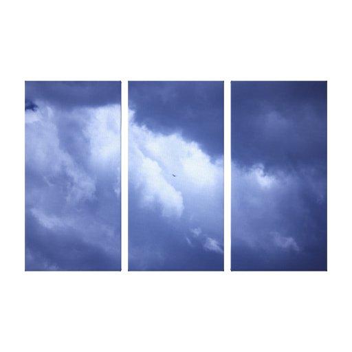 My Blue Heaven Canvas Prints
