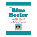 My Blue Heeler is All That! Postcard