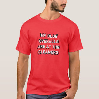 My Blue overalls(player 1) t-shirt