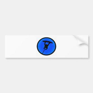 My blue Raley Bumper Sticker