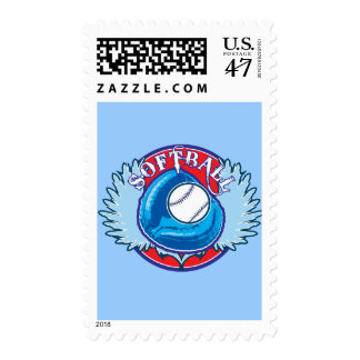 My Blue Team Postage