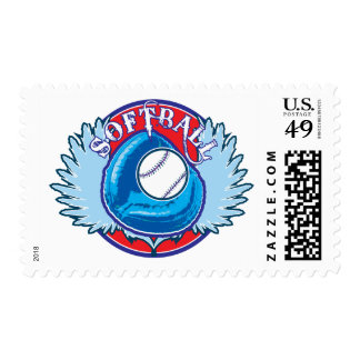 My Blue Team Postage Stamps