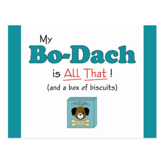 My Bo-Dach is All That! Postcard