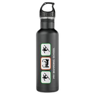 My Boarding School - Fun Boarder Design with Text Water Bottle