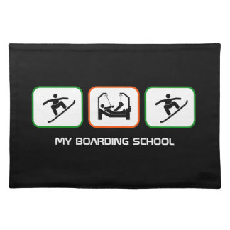 My Boarding School - Funny Boarder Design Placemat
