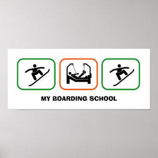 MY BOARDING SCHOOL POSTER
