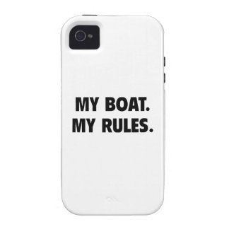 My Boat. My Rules. Vibe iPhone 4 Case