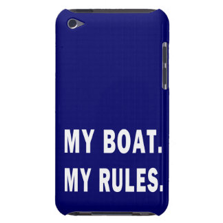My Boat. My Rules - funny boating iPod Case-Mate Case