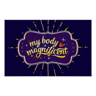 My Body is Magnificent Poster