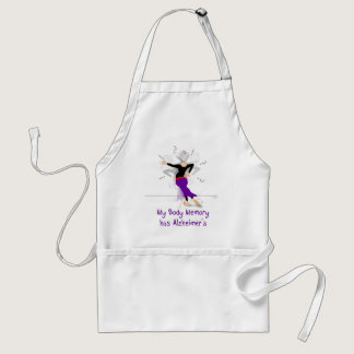 My Body Memory has Alzheimers Adult Apron