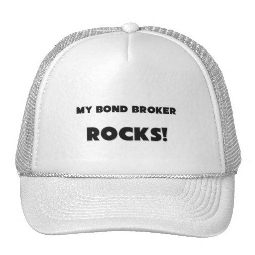 MY Bond Broker ROCKS! Mesh Hat