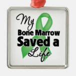 My Bone Marrow Saved a Life Christmas Ornaments