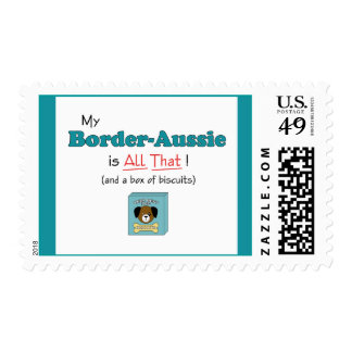 My Border-Aussie is All That! Stamps