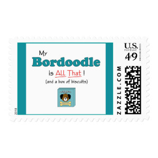 My Bordoodle is All That! Postage