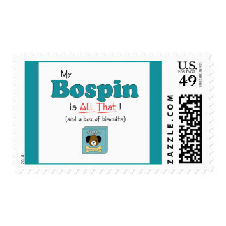 My Bospin is All That! Postage
