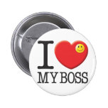 My Boss 2 Inch Round Button