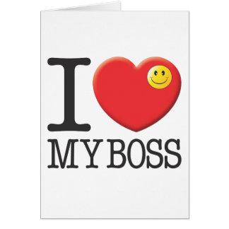 My Boss Cards