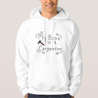My Boss Is A Jewish Carpenter Hoodie