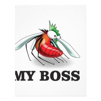 my boss mean letterhead