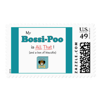 My Bossi-Poo is All That! Postage Stamp