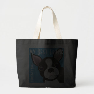 My Bostie s Doggie Canvas Bags