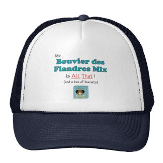My Bouvier des Flandres Mix is All That! Trucker Hat