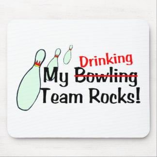 My Bowling Team Rocks Mouse Pad