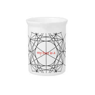 my box is a... Metatron's Cube Drink Pitchers