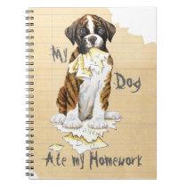 My Boxer Ate My Homework Notebook