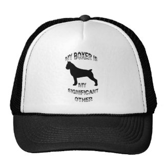 My Boxer Is My Significant Other Trucker Hat