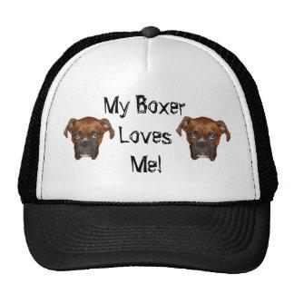 My Boxer Loves Me! Trucker Hat