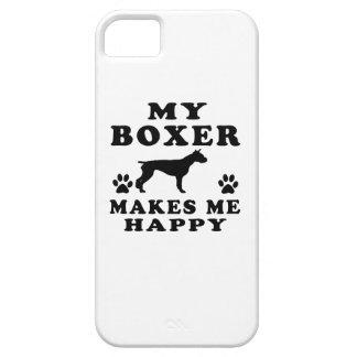 My Boxer Makes Me Happy iPhone 5 Cases