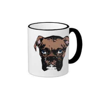 My BoxerLoves Me! Ringer Mug
