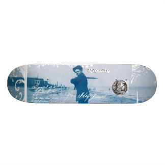 My Boy Blue Skateboard