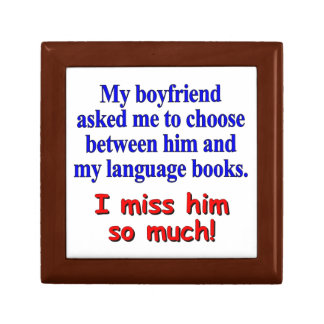 My boyfriend asked me to choose keepsake box
