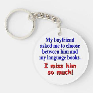 My boyfriend asked me to choose keychain