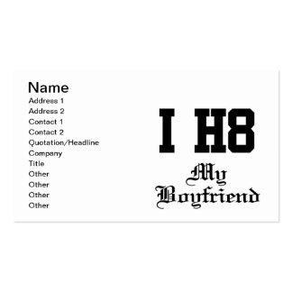 my boyfriend business card