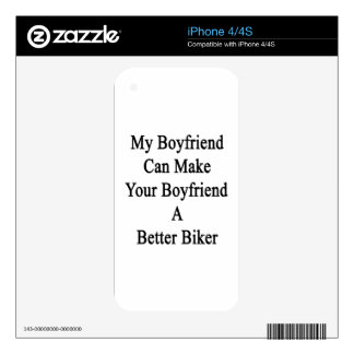 My Boyfriend Can Make Your Boyfriend A Better Bike Decals For The iPhone 4