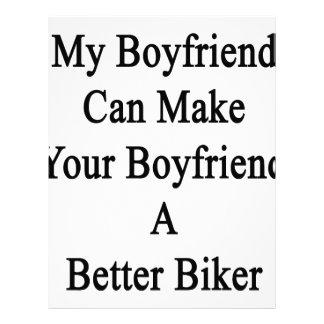 My Boyfriend Can Make Your Boyfriend A Better Bike Letterhead