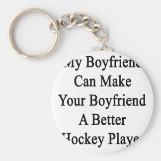 My Boyfriend Can Make Your Boyfriend A Better Hock Keychain