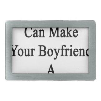 My Boyfriend Can Make Your Boyfriend A Better Runn Rectangular Belt Buckle