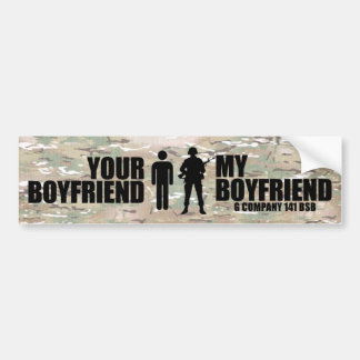 My Boyfriend - G Company 141 BSB Bumper Stickers