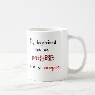 My boyfriend has no pulse... he is a vampire mug