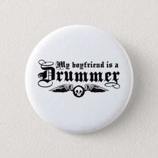 My Boyfriend Is A Drummer Button