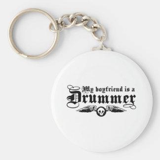 My Boyfriend Is A Drummer Keychain